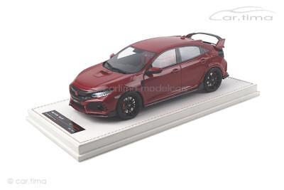 1:18 1 of 299-motor Helix mh001wh Honda Civic Type R-Championship White