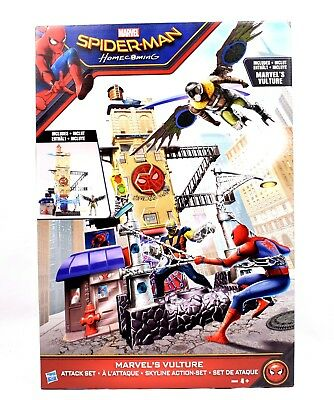Spider-Man Home Coming - Marvel's Vulture Attack Action Figure Playset