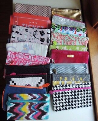 Ipsy Makeup Cosmetic Bag. Bag ONLY. CHOOSE from 34 bags. Blue, Black, Pink, Red