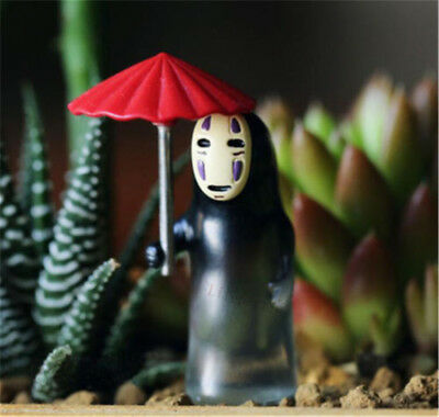 Studio Ghibli Spirited Away No-Face Holding An Umbrella Piggy Bank Xmas Gift New