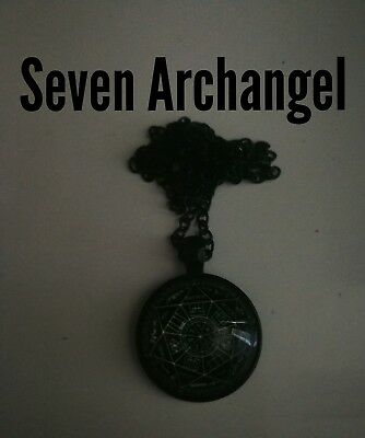 Code 308 The seal of the 7 seven Archangels Michael Raphael Haniel Gabriel 4 man
