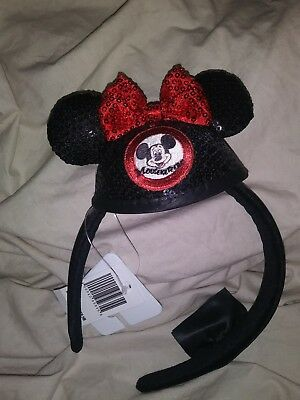 Disney Parks  Mickey Mouse Clubhouse Minnie Headband Ears New with Tags