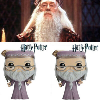 Funko Pop Movies Harry Potter Dumbledore Action Figure Collectible Xmas Gift Toy