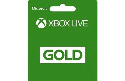 Xbox Live Gold for 3 Month Subscription: £6 for 3 month. Offer expires 20/12/18