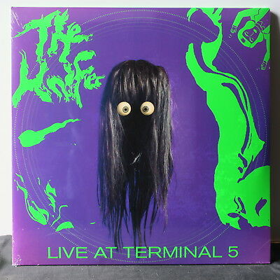 KNIFE 'Live At Terminal 5' Gatefold Vinyl 2LP+CD+DVD NEW/SEALED