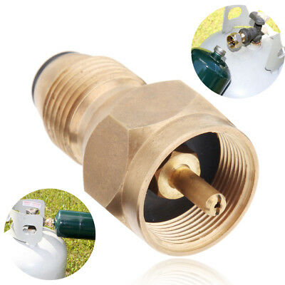 Propane Refill Adapter Lp Gas Cylinder Tank Coupler Heater Camping Cooking POL