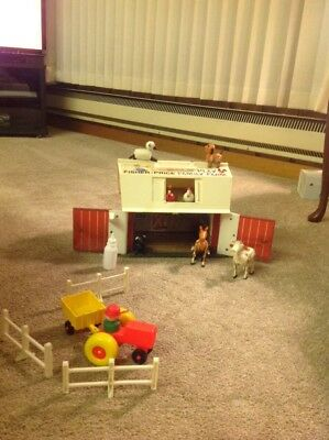 Vintage 1967 Fisher Price Family Play Farm #915 Fisher Price New York 1967
