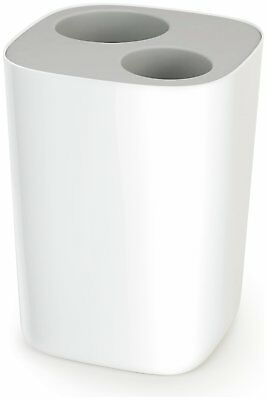 Joseph Joseph 8 Litre Waste Separation Bathroom Bin - Grey