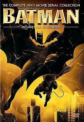 Batman - The 1943 Serial Collection (DVD, 2005, 2-Disc Set) NEW factory sealed