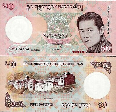 Bhutan set 6 pcs 1+5+10+20+50+100 Ngultrum - Pick 27-32 UNC random years