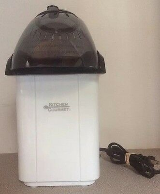 KITCHEN GOURMET Hot Air Popcorn  Maker / Popper  Model # B - 328