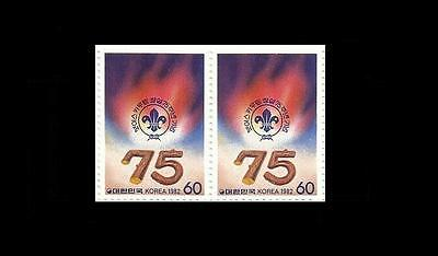 *Korea 1982 Stamp,75th Anniversay of Boy Scout