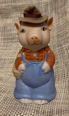 Vintage Jasco Pig Piggly Wiggly Coin Bank Made In Japan