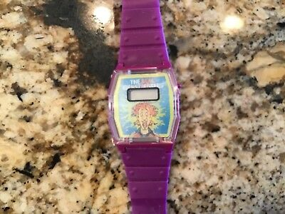 1988 Real Ghostbusters Face Changing Peter Venkman Purple Watch
