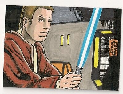 Star Wars Finest 2018 Base Card #61 Luke Skywalker