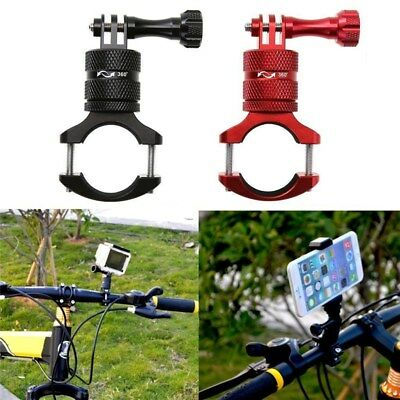Aluminium Alloy Bicycle Motorcycle Handlebar Mount Holder for Phone GoPro Camera