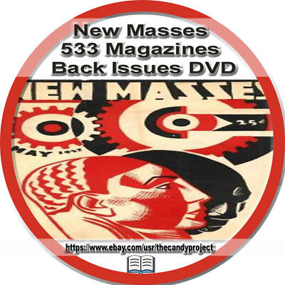 New Masses Magazine 533  pdfs DVD NAACP American Marxist Communist Party USA