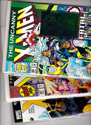 X-MEN LOT OF 3 KEY ISSUES (MARVEL - 1991,1993, 2007) High Grade Copies-VERY NICE