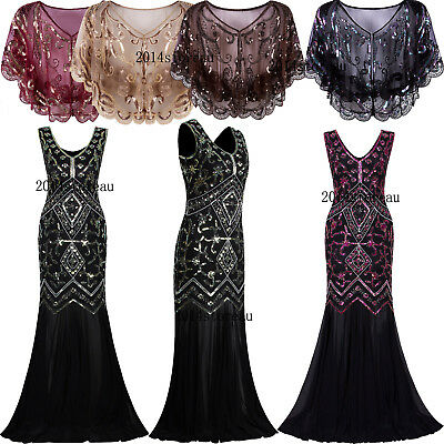 6fa870297d03e 1920s Dress Inspired Lace Beaded Sequin Gatsby Long Evening Gowns Prom  Dresses