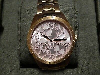 NEW Welsh Clogau Pink Tree Of Life Watch - Box & COA - RRP £390