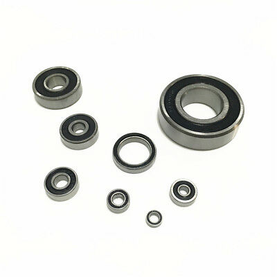 2-50pcs 604 605 606 607 608 609 2RS RS Rubber Sealed Deep Groove Ball Bearing