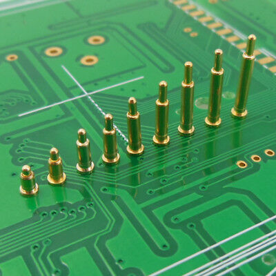 Copper + Gold Plating Plated Current Pogo Pin Probe Spring Loaded SMT Contacts T