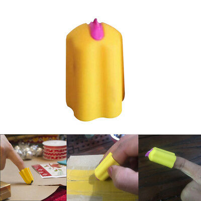 Safety Plastic Packets Cutter Parcel Opener Silicone Carton Letter Finger Cutter