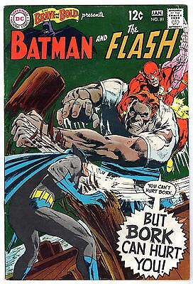 Brave and the Bold #81 Featuring Batman & Flash, Very Fine Condition