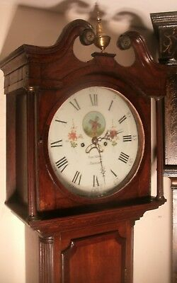 "Antique Oak  "" Ashburn ""   Automation  Windmill   Longcase / Grandfather Clock"