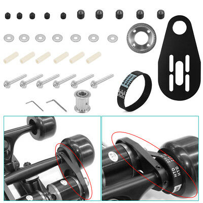 DIY Pulley Kit And Motor Tool Set Mount for Electric Skateboard 80mm Wheel OS914