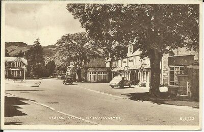 Postcard of Mains Hotel, Newtonmore, Inverness-shire