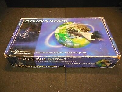 Excalibur Systems EXC-1553PC/EP-H Avionic Test Board + Data Bus Cable + Software
