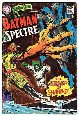 Brave and the Bold #75 Featuring Batman & Spectre, Very Good - Fine Condition