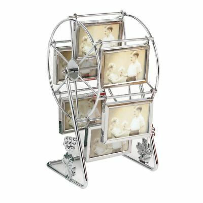Rotating Photo Frame Ferris Wheel Picture Holder Vintage Gift Ideas Home Decor