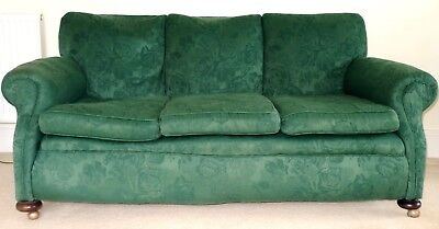 Antique Sofa 1920s Sanderson Fabric Good But Internal Upholstery Needs Attention