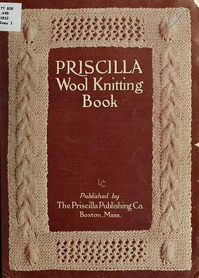 Sewing & Needlework - 101 Old Books On Dvd- Vintage Knitting Patterns Crocheting