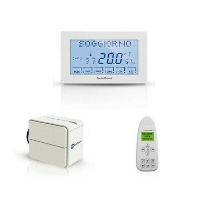 Kit 2 Radiatori Termostato 1 Ch120Rf 2 O60Rf E 1 Attuatore Wireless Fantini Cosm