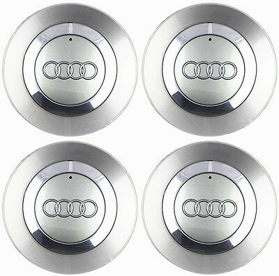 "4 OEM Wheel Center Cap 8E0601165 FOR AUDI 2002-2007 Audi A4 B6 16"" 5 Spoke Wheel"