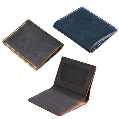 DIY Leather Wallet Purse Making Kits for Women Man Business Casual Unfinished