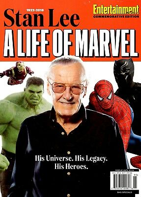 Entertainment Weekly Magazine 2018 A Life of Marvel 1922-2018 STAN LEE