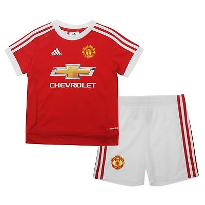Manchester United Baby Kit 9-12 Months Adidas 100% Official Shirt   Shorts 1fa8ca0b8