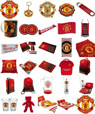 Official MANCHESTER UNITED Football Club Merchandise Xmas Birthday Gift Man Utd