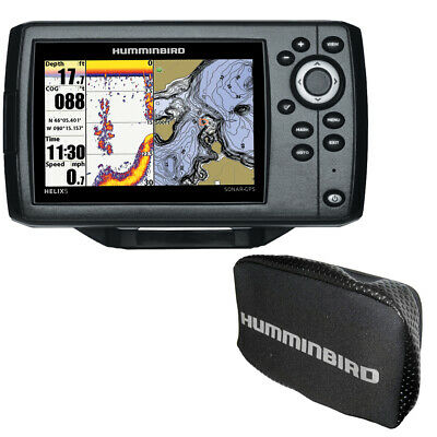 Humminbird HELIX® 5 Chirp GPS G2 Combo w/Free Cover