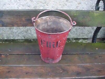 Old fire bucket