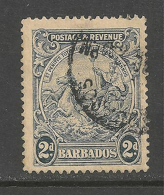 Barbados #169 (A19) VF USED - 1925 2p Seal Of The Colony