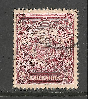 Barbados #195A (A21) VF USED - 1941 2p Seal Of The Colony