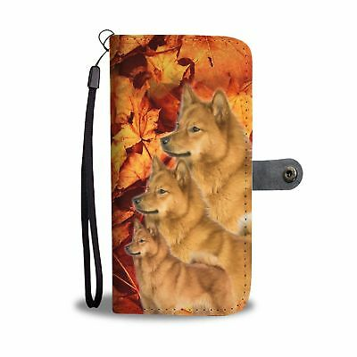Finnish Spitz Wallet Case- Free Shipping