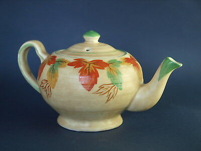 Vintage George Clews Hand Painted Tea Pot