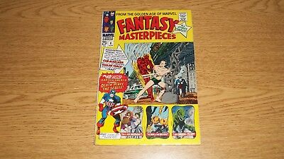 Fantasy Masterpieces Marvel Comics 1966 Series #8 Kirby Captain America