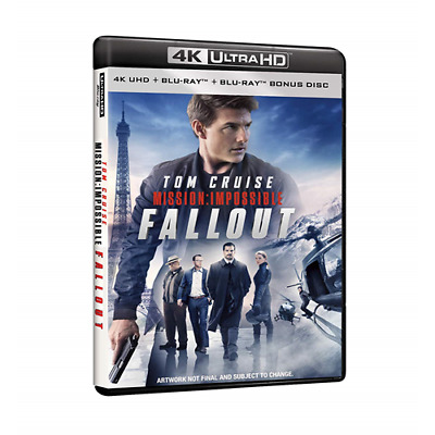 Mission: Impossible - Fallout (Uhd+Blu-Ray)  [Blu-Ray Nuovo]